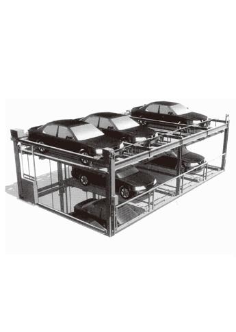 多层型停车设备系统