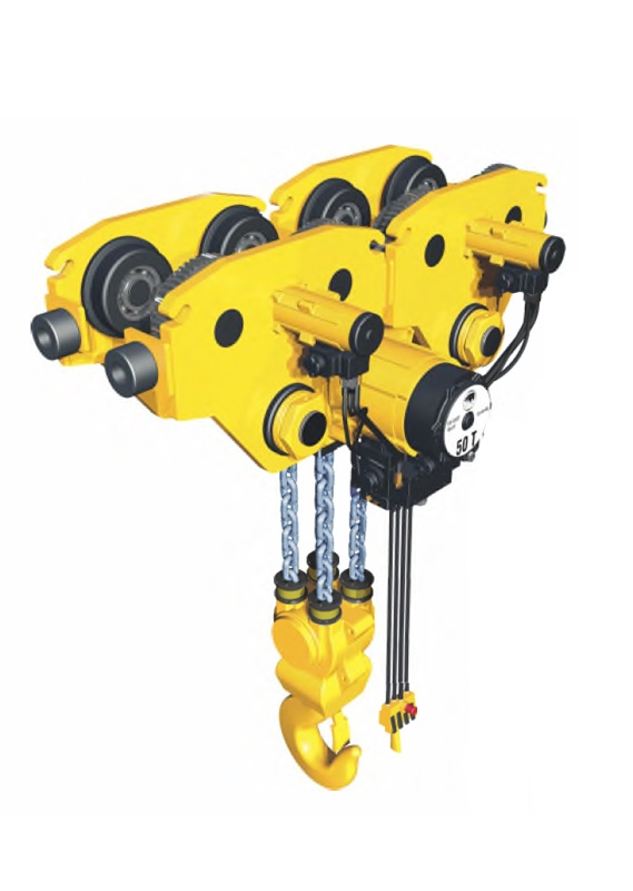 YSA-2500~YSA-5000 Series Generation II Air Chain Hoist