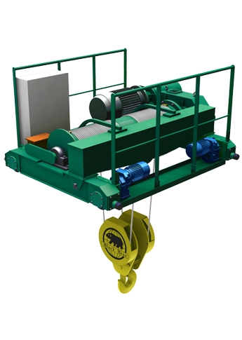 Economy Type Electric Wire Rope Crab | EWC Model
