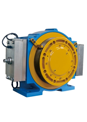 Gearless Permanent Magnet Synchronous Motor Traction Machine