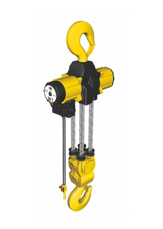 YSA-2500~YSA-5000 系列 第二代气动链条吊车
