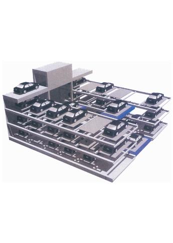 产品型号:pro-J-03-01 平面往复式 停车设备系统