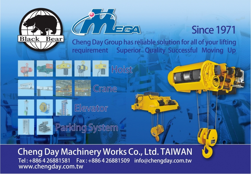 Cheng Day Machinery Works Co., Ltd. TAIWAN