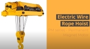 Electric Wire Rope Hoist PM series
