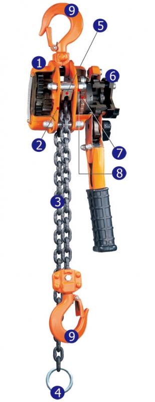 YL-030 - Lever Hoist, Lever Chain Hoist