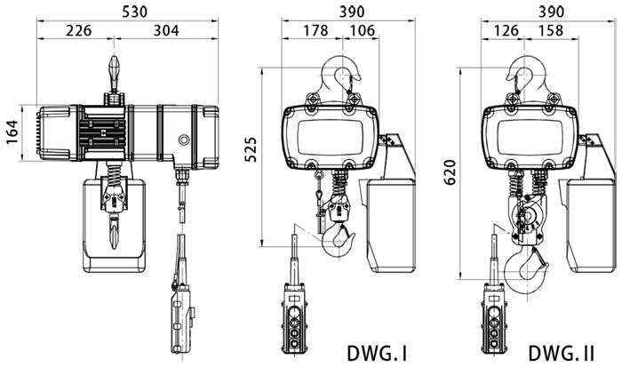 Electric Chain Hoist - BLFD-1 Series