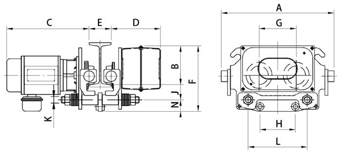 Motorized NTF Trolley