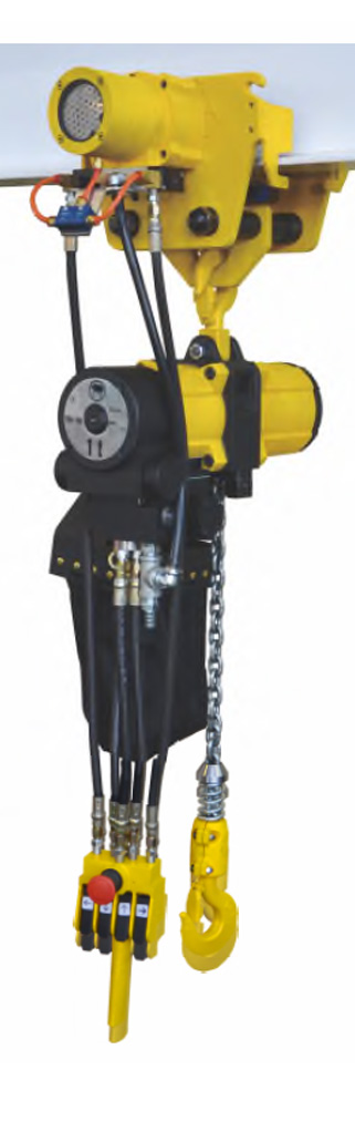 YSA-025~200 Air Chain Hoist, Pneumatic Hoist
