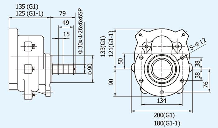 G1A-04A Soft Start Motor, Soft Motor Starter