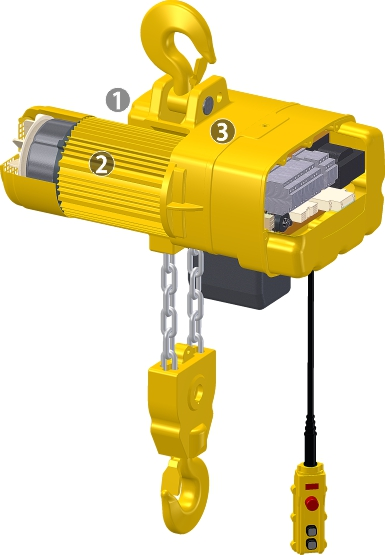 Electric Chain Hoist - NHD Series Chain Hoists