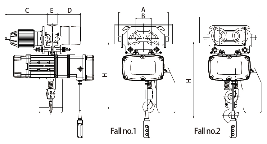 Electric Chain Hoist -  NHD