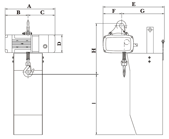 WNH Series Lifting Hoists, Hoist Lifting