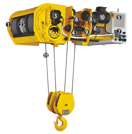 PM Wire Rope Hoist