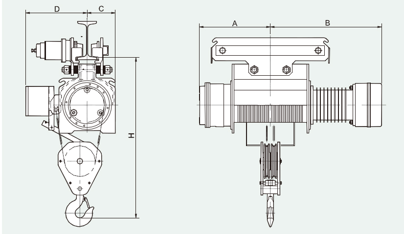 TB Electric Wire Rope Hoist