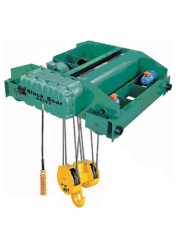 SU (AC-brake) Model Top Running Electric Wire Rope Hoist