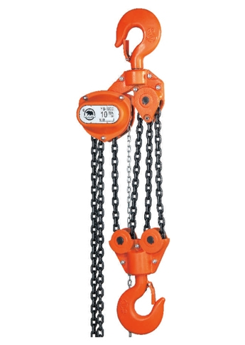 10 ton Hand Chain Block Hoist | YB-1000