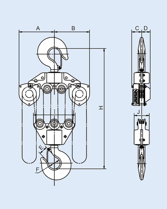YB-1500 Hand Chain Block